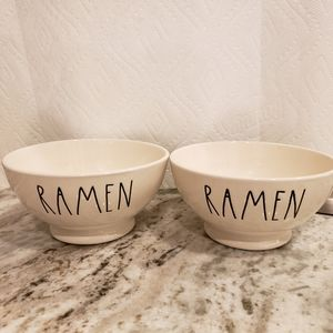 Rae Dunn Ramen Bowls- Set of 2